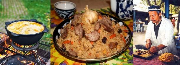 Узбекский плов рецепт приготовления с фото